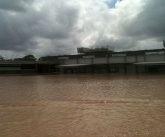 2011 Flood Levels at the Warehouse and Admin Office