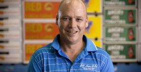 25 year milestone for Mark Meiforth, JH Leavy & Co. Warehouse Night Manager